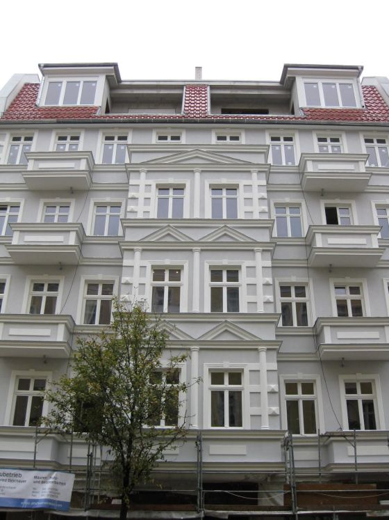ZUm Effizienzhaus saniert: Das Gründerzeit-Haus in der Berliner Mühsamstraße